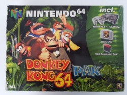 Console Nintendo 64 Pack...