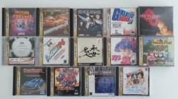 14 jeux Saturn (JAP)