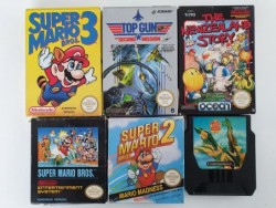 Pack 6 Spiele Nes
