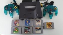 Konsole Nintendo 64 + 7...