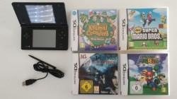 Nintendo DSi + 4 games