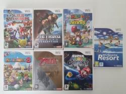 7 games Wii