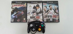Controller Gamecube +  NHL...