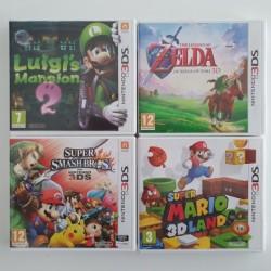 4 jeux 3DS