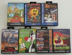 7 jeux Megadrive