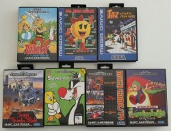 7 Spiele Megadrive