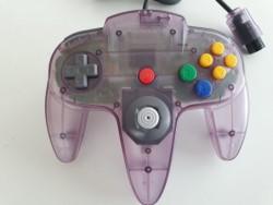 Controller N64 Clear Purple