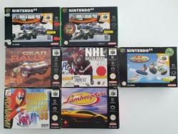 Lot 7 jeux Nintendo 64