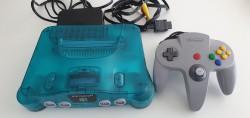 Console Nintendo 64 Clear Blue