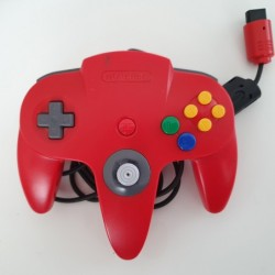 Controller N64 Red