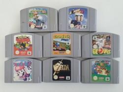 8 jeux Nintendo 64