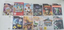 11 jeux Wii (gekratzt)