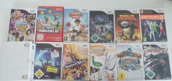 11 jeux Wii (rayés)