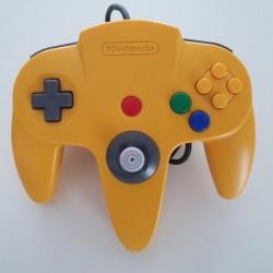 Controller N64 Yellow