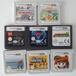 8 jeux Nintendo DS / 3DS