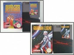 Solar Jetman + The Guardian...