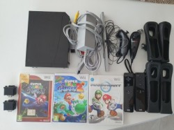 Console Wii crackée + 3 jeux