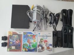 Konsole Wii hacked  + 3 Spiele