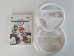 Mario Kart Wii + 2 volants